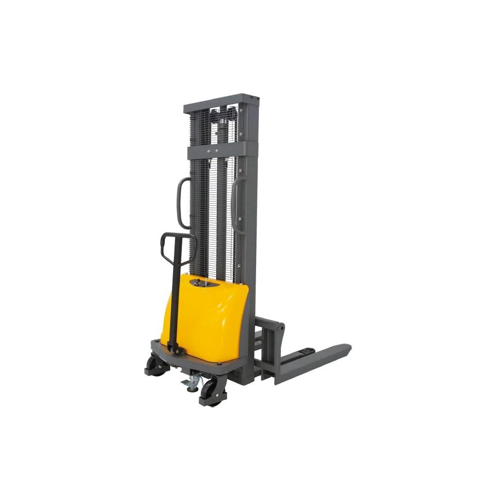 Poloelektrický vysokozdvižný vozík 1,0t 2,5m CDD10B-E25 s posuvnými vidlami