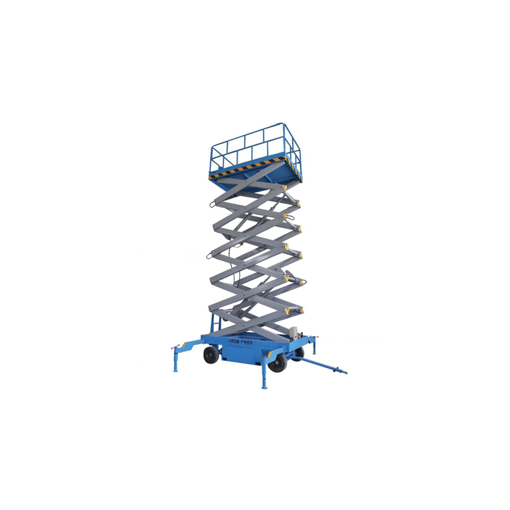 Elektrická nožnicová plošina SJY05-14 500kg 14m s batériou