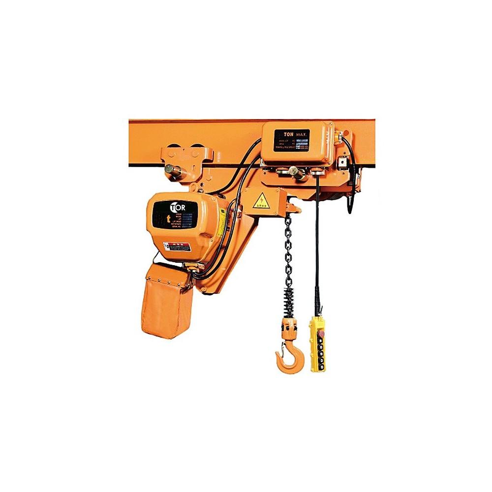 Elektrický reťazový kladkostroj 5t 6m 380V HHBBSL05-02 so zníženým telom