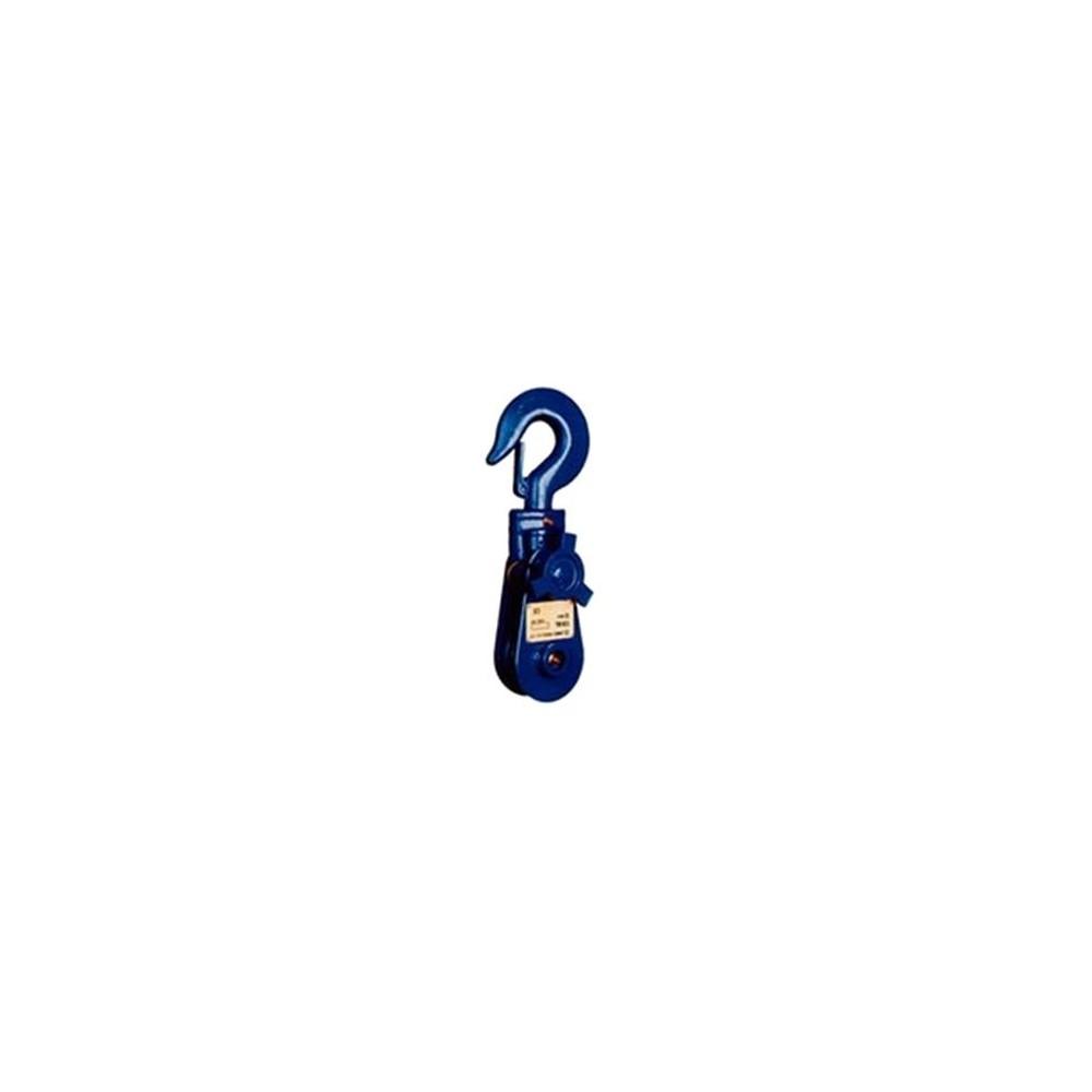 Montážní kladka s hákem H418-1-2, 1 válec 2T