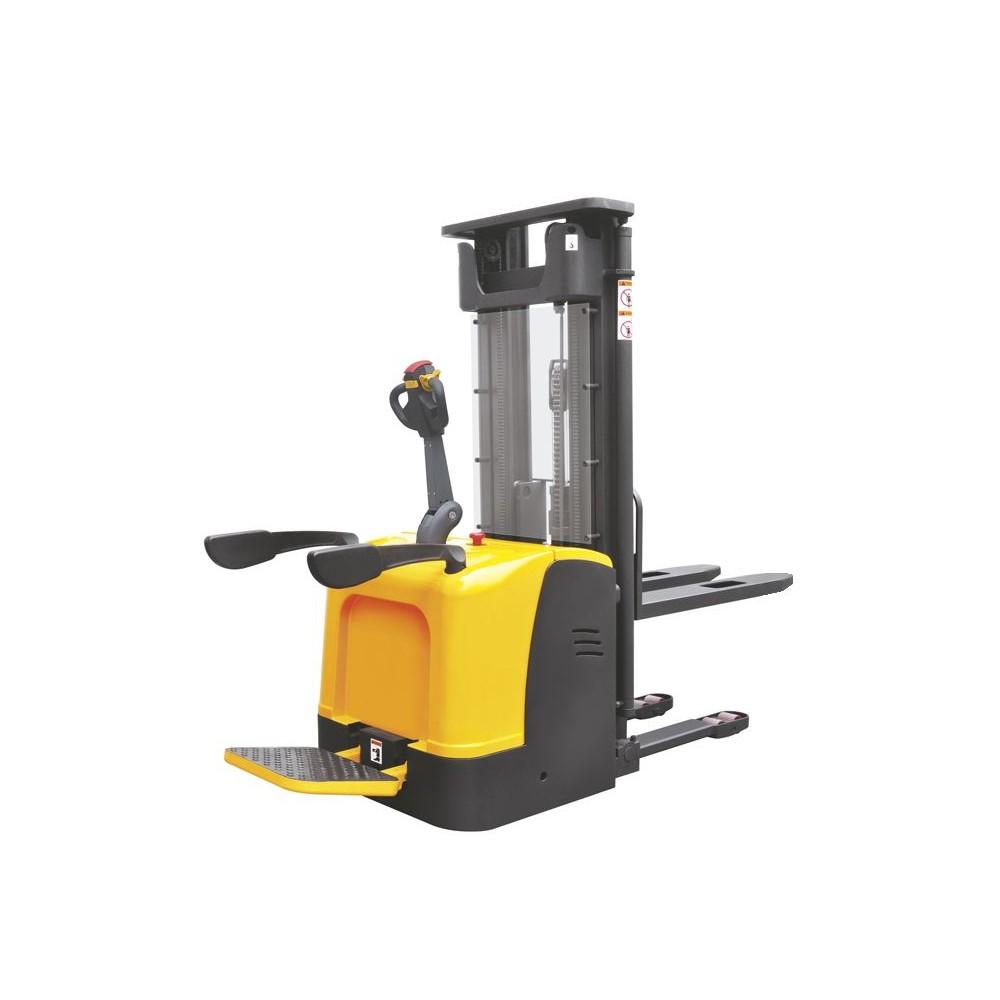 Samohybný elektrický stohovač s plošinou 1,5t 5,0m CDDK15-II