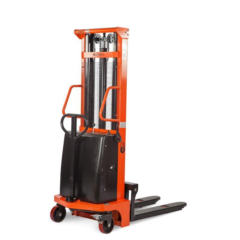 Hydraulický stohovač s elektrickým zdvihem TOR 10/20, 1t 2,0m (CTD)