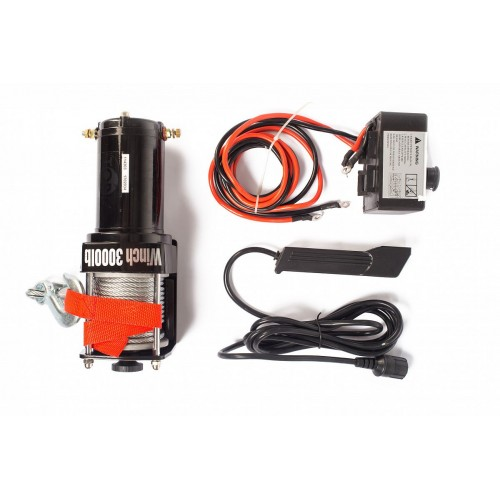 Naviják elektrický automobilový 12V P3000