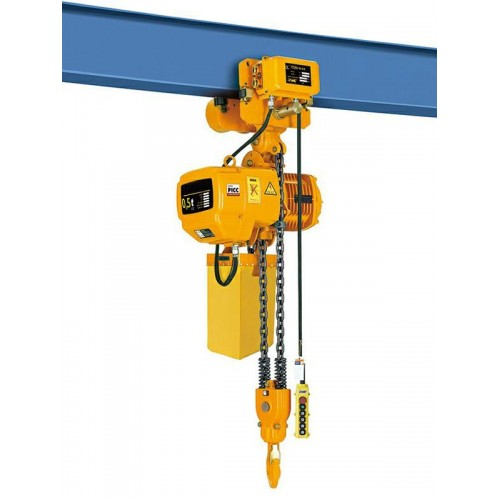 Elektrický řetězový kladkostroj HHBD05-12 0.5T 12M 380V