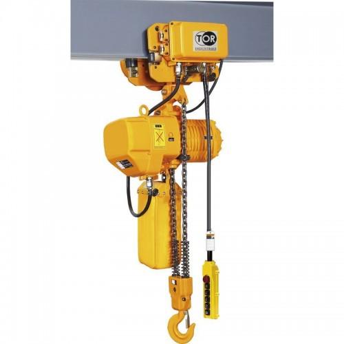 Elektrický řetězový kladkostroj HHBD 2T 12M dvourychlostní
