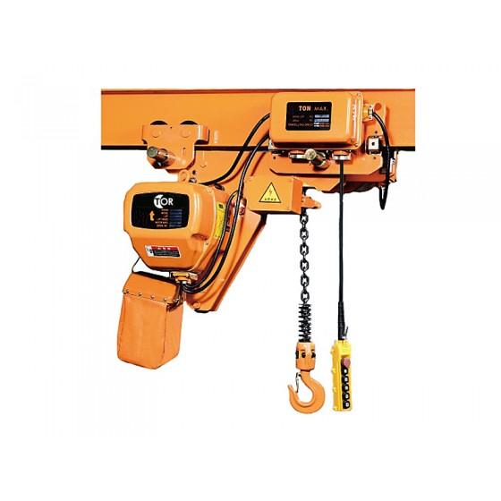 Elektrický reťazový kladkostroj HHBBSL 1T 6M 380V so zníženým telom