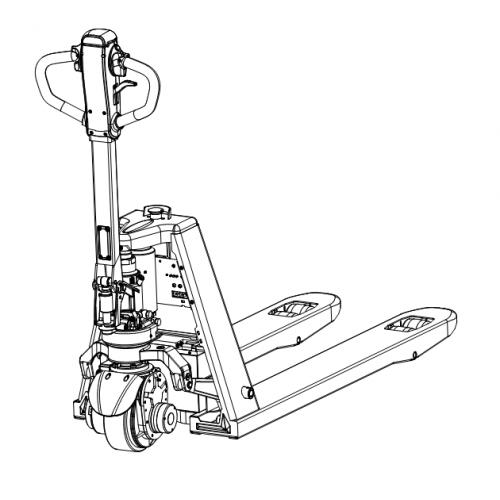 Elektrický paletový vozík CBD15-Li