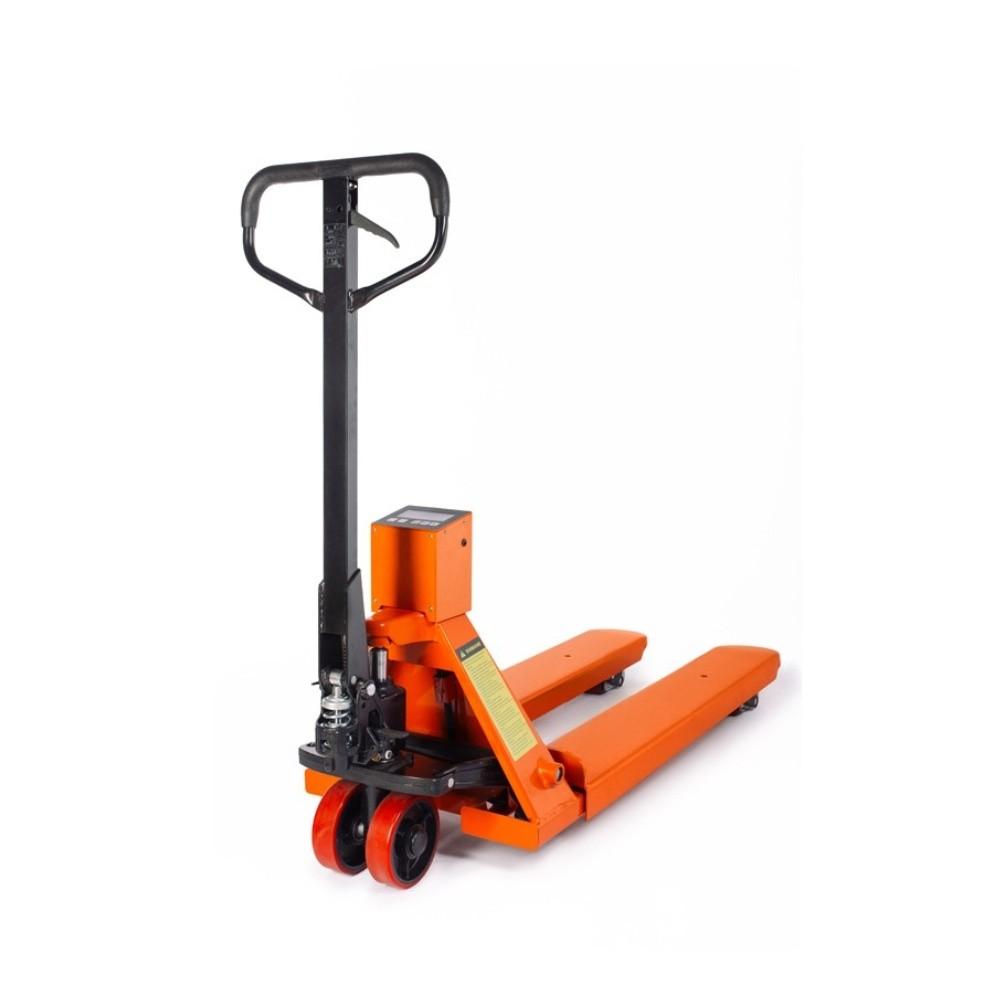 Paletový vozík s váhou CBY20, nosnost 2000 kg