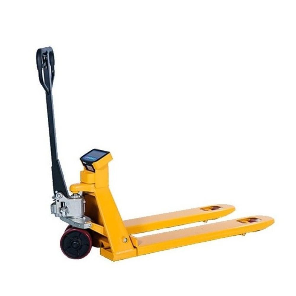 Paletový vozík s váhou a tiskárnou WH25-T, nosnost 2500 kg
