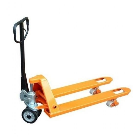 Paletový vozík 2,5T 550x1150 mm s gumovými koly RHP2500